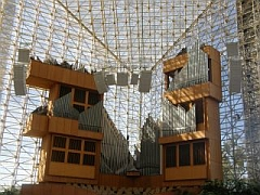 interieur Crystal Cathedral