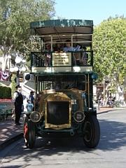 Nostalgische bus in Mainstreet