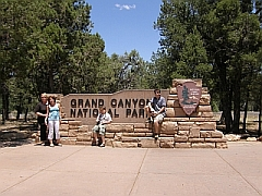 Ingang Grand Canyon NP