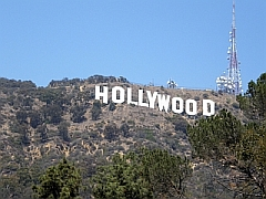 Hollywood letters in de Hollywood Hills