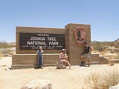 Ingang van Joshua Tree NP