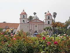 Mission van Santa Barbara