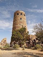 Watch tower bij Desert View Point, Grand Canyon