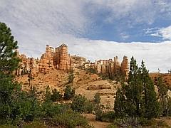 Begin Mossy Cave Trail