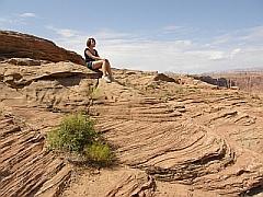 Uitzichtpunt bij Glen Canyon Dam, Page