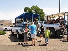 Jeep naar Antelope Canyon