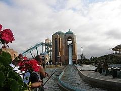 De attractie Journey to Atlantis