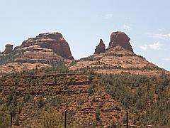 De rode rotsen van Sedona