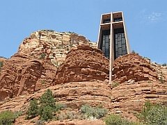 Holy Cross Chapel in Sedona